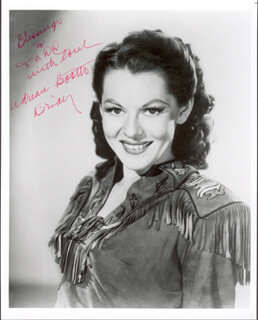 ADRIAN (LORNA GRAY) BOOTH - AUTOGRAPHED INSCRIBED PHOTOGRAPH