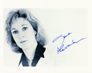 Autographs: JANE ALEXANDER - PHOTOGRAPH SIGNED