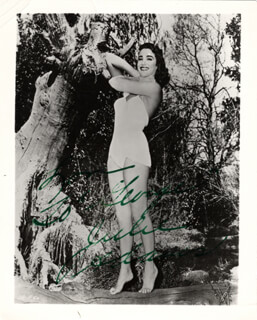 JULIE ADAMS - AUTOGRAPHED INSCRIBED PHOTOGRAPH