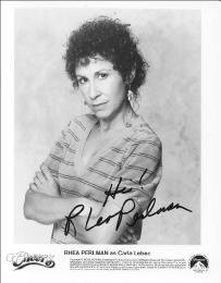 RHEA PERLMAN - AUTOGRAPHED SIGNED PHOTOGRAPH