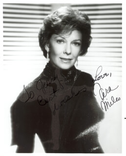 VERA MILES - AUTOGRAPHED INSCRIBED PHOTOGRAPH
