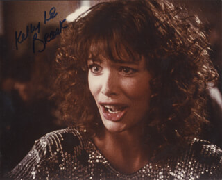 KELLY LE BROCK - AUTOGRAPHED SIGNED PHOTOGRAPH