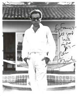 PETER BOGDANOVICH - AUTOGRAPHED INSCRIBED PHOTOGRAPH