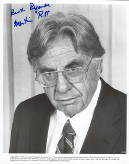 MARTIN RITT - AUTOGRAPHED SIGNED PHOTOGRAPH