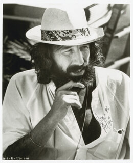 Autographs: LOU ADLER - PHOTOGRAPH SIGNED 1986