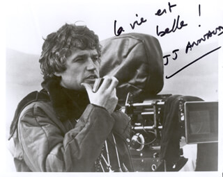 JEAN-JACQUES ANNAUD - AUTOGRAPHED SIGNED PHOTOGRAPH