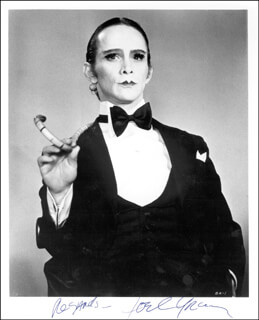 JOEL GREY - AUTOGRAPHED SIGNED PHOTOGRAPH