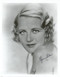 WYNNE (WINIFRED) GIBSON - AUTOGRAPHED SIGNED PHOTOGRAPH