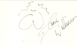 JUNE WILKINSON - SELF-CARICATURE SIGNED