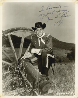 Autographs: JAMES L. RIP BROWN - INSCRIBED PHOTOGRAPH SIGNED
