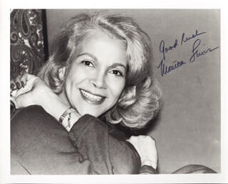 MONICA LEWIS - AUTOGRAPHED SIGNED PHOTOGRAPH