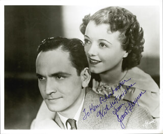 JANET GAYNOR - AUTOGRAPHED INSCRIBED PHOTOGRAPH