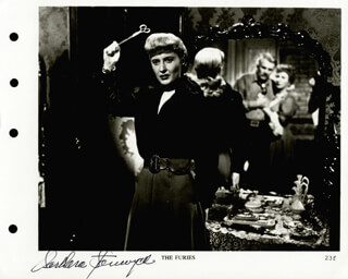 BARBARA STANWYCK - AUTOGRAPHED SIGNED PHOTOGRAPH