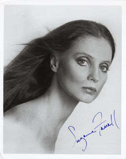 SUZANNE FARRELL - AUTOGRAPHED SIGNED PHOTOGRAPH