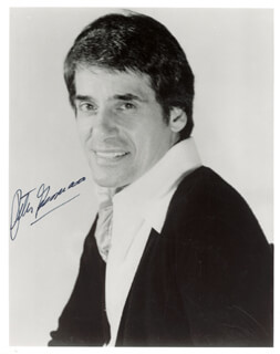 PETER GENNARO - AUTOGRAPHED SIGNED PHOTOGRAPH