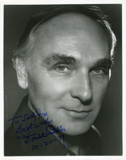 DONALD SADDLER - AUTOGRAPHED INSCRIBED PHOTOGRAPH 10/20/1979
