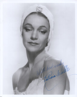 PATRICIA WILDE - AUTOGRAPHED SIGNED PHOTOGRAPH