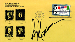 RORY CALHOUN - FIRST DAY COVER SIGNED