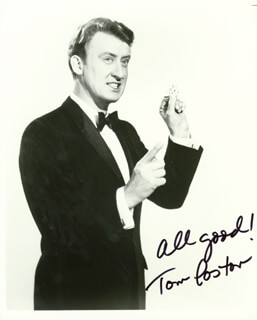 TOM POSTON - AUTOGRAPHED SIGNED PHOTOGRAPH