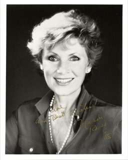 MARION ROSS - AUTOGRAPHED SIGNED PHOTOGRAPH 1988