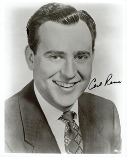 CARL REINER - AUTOGRAPHED SIGNED PHOTOGRAPH