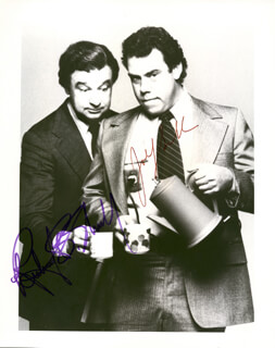 HOLMES AND YO-YO TV CAST - AUTOGRAPHED SIGNED PHOTOGRAPH CO-SIGNED BY: JOHN SCHUCK, RICHARD B. SHULL