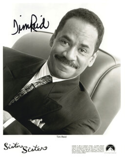 TIM REID - AUTOGRAPHED SIGNED PHOTOGRAPH