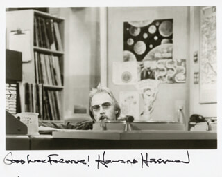 HOWARD HESSEMAN - AUTOGRAPHED SIGNED PHOTOGRAPH
