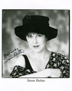 SUSAN RUTTAN - PRINTED PHOTOGRAPH SIGNED IN INK