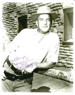 DENVER D. PYLE - AUTOGRAPHED SIGNED PHOTOGRAPH