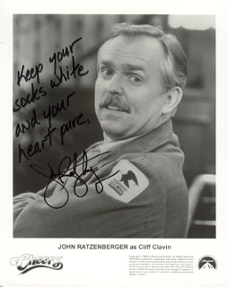 JOHN RATZENBERGER - PRINTED PHOTOGRAPH SIGNED IN INK
