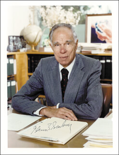 GLENN T. SEABORG - AUTOGRAPHED SIGNED PHOTOGRAPH