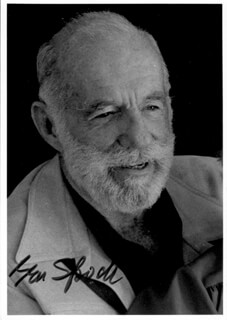 BENJAMIN M. SPOCK - AUTOGRAPHED SIGNED PHOTOGRAPH
