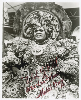 MABEL KING - AUTOGRAPHED SIGNED PHOTOGRAPH