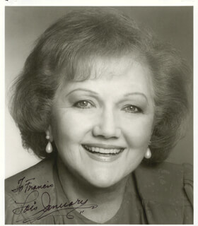 LOIS JANUARY - AUTOGRAPHED SIGNED PHOTOGRAPH