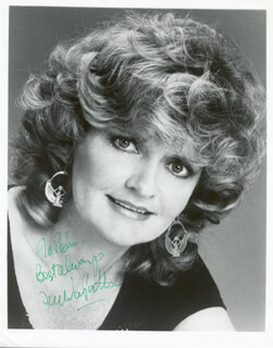 JOYCE VAN PATTEN - AUTOGRAPHED INSCRIBED PHOTOGRAPH