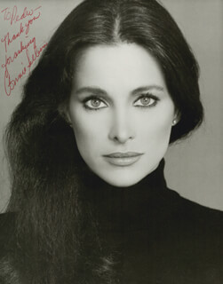 CONNIE SELLECCA - AUTOGRAPHED INSCRIBED PHOTOGRAPH