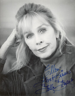 STELLA STEVENS - AUTOGRAPHED INSCRIBED PHOTOGRAPH