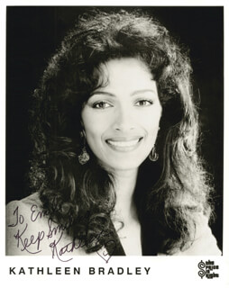 KATHLEEN BRADLEY - AUTOGRAPHED INSCRIBED PHOTOGRAPH