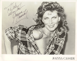 JOANNA CASSIDY - AUTOGRAPHED INSCRIBED PHOTOGRAPH