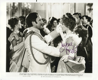 LYNNE FREDERICK - AUTOGRAPHED SIGNED PHOTOGRAPH