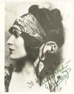 EVELYN BRENT - AUTOGRAPHED SIGNED PHOTOGRAPH