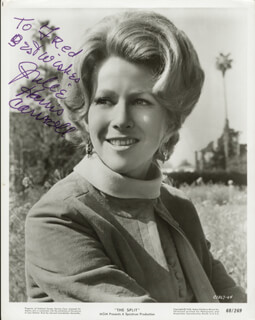 JULIE HARRIS - AUTOGRAPHED INSCRIBED PHOTOGRAPH
