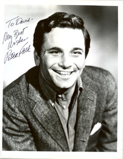 PETER FALK - AUTOGRAPHED INSCRIBED PHOTOGRAPH