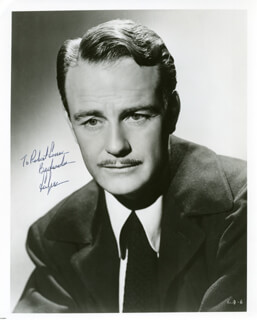 LEW AYRES - AUTOGRAPHED INSCRIBED PHOTOGRAPH