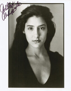 ALICIA COPPOLA - AUTOGRAPHED SIGNED PHOTOGRAPH