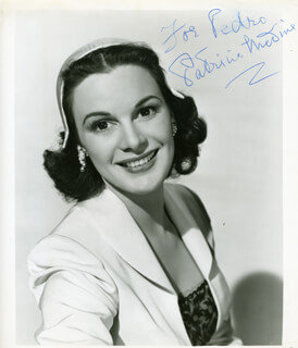 PATRICIA MEDINA - AUTOGRAPHED INSCRIBED PHOTOGRAPH