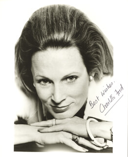 CHARLOTTE FORD - AUTOGRAPHED SIGNED PHOTOGRAPH