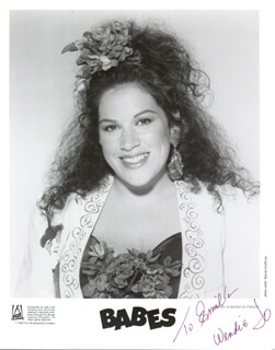 WENDIE JO SPERBER - AUTOGRAPHED INSCRIBED PHOTOGRAPH