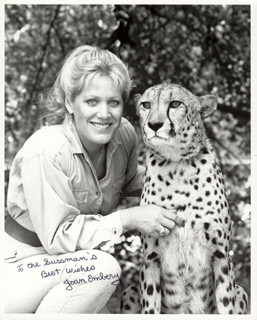 JOAN EMBERY - AUTOGRAPHED INSCRIBED PHOTOGRAPH